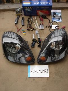 MR2 Spyder headlight Install
